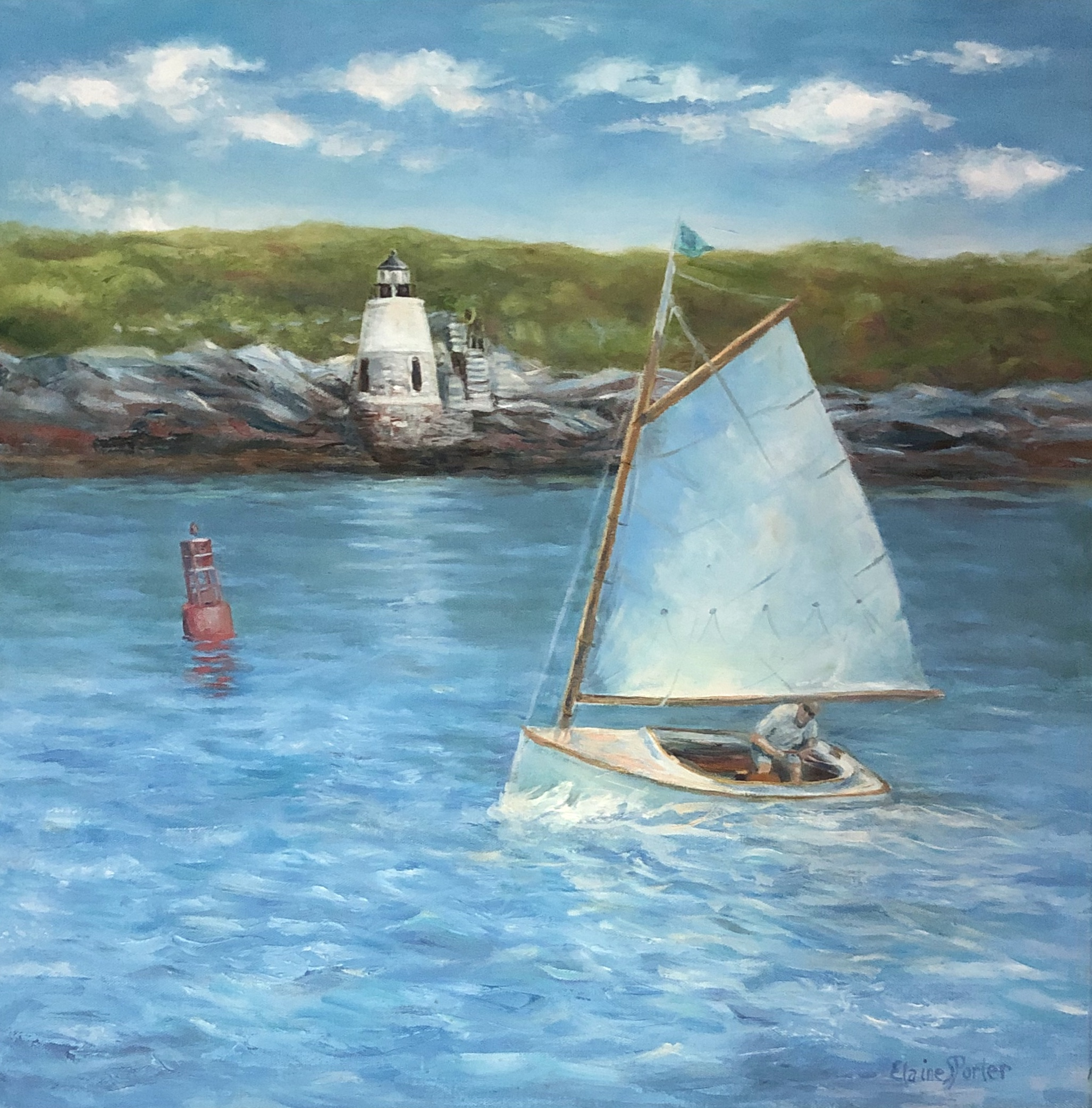 Elaine Porter,  Late Summer Sail