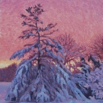 Jonathan Small, Snowy Day's End