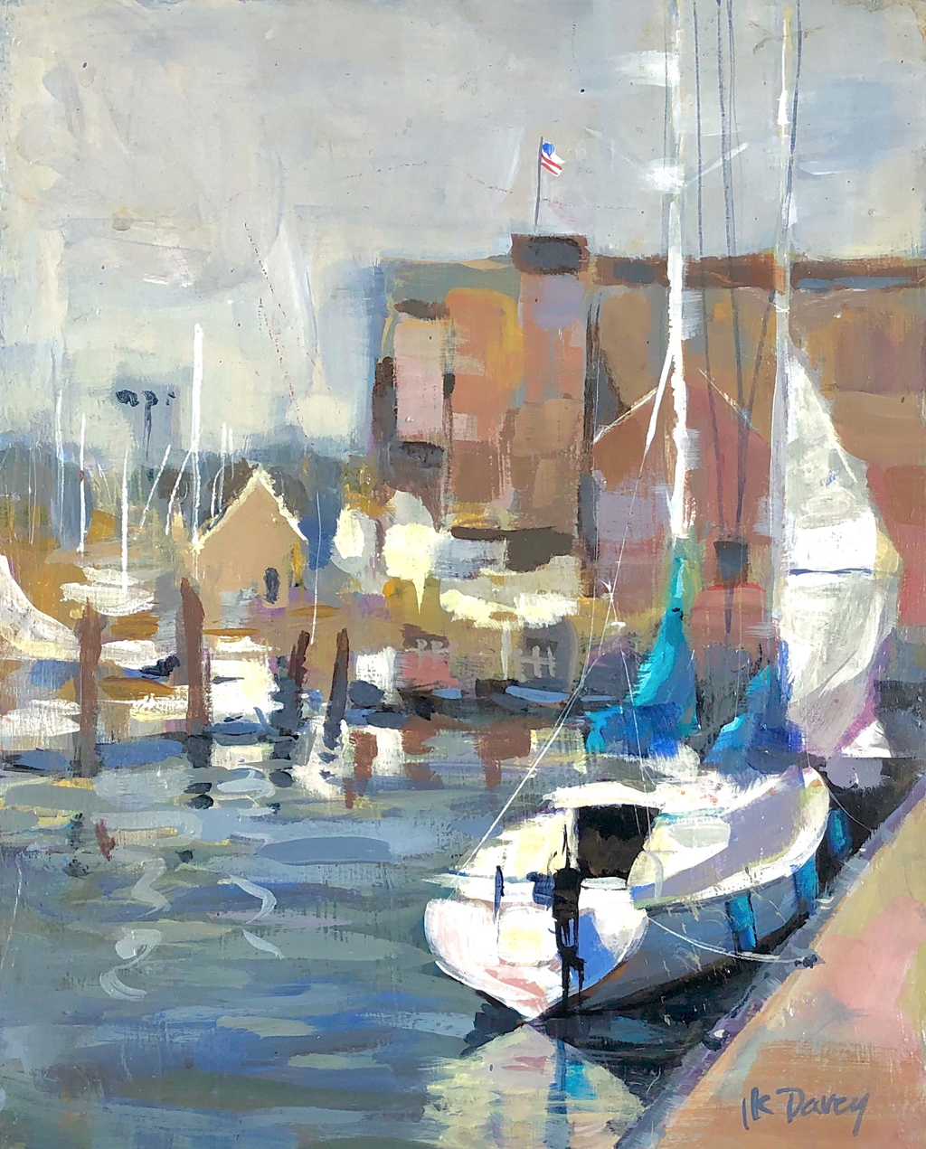 Linda King Davey, Long Wharf