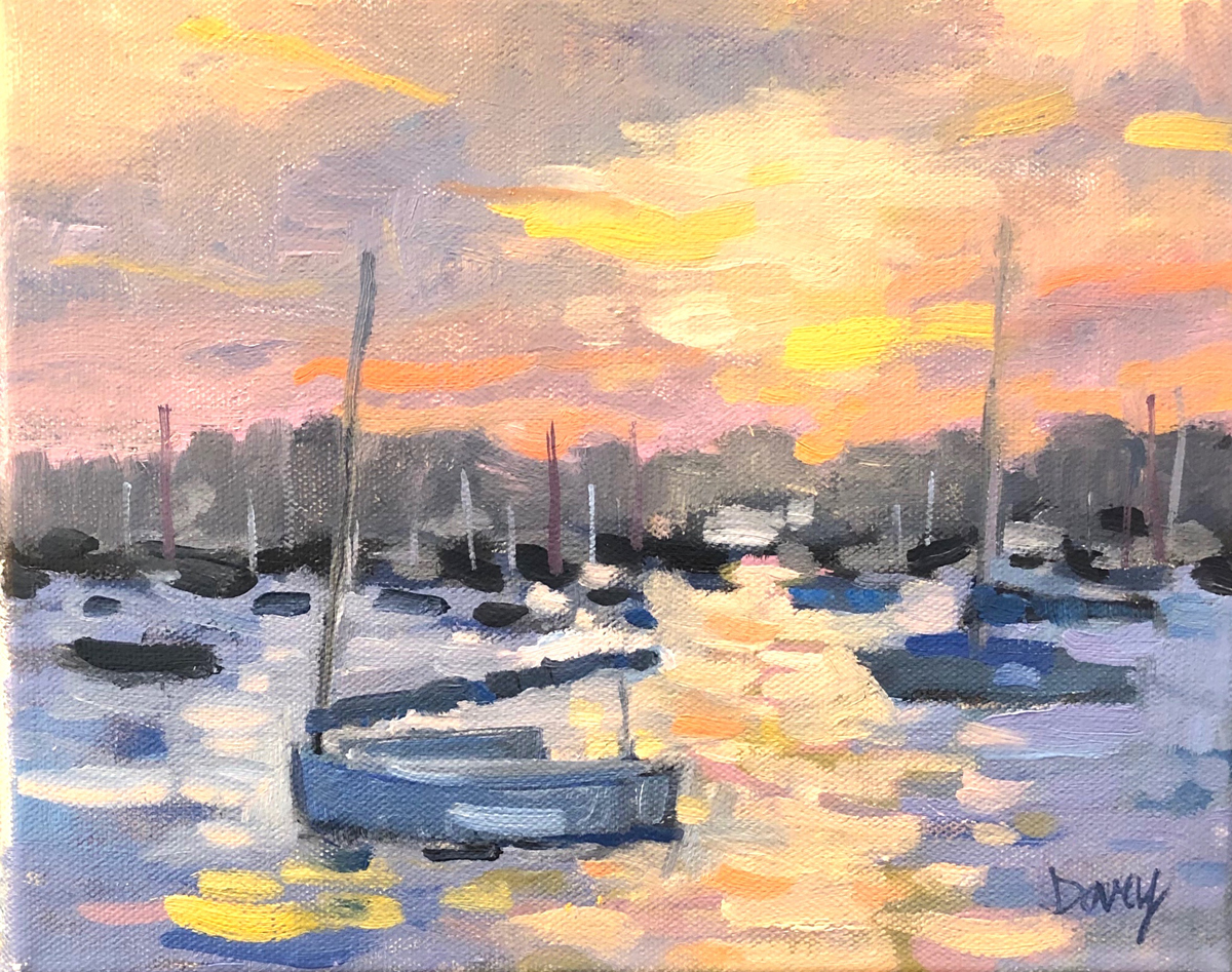 Linda King Davey, Peaceful Harbor