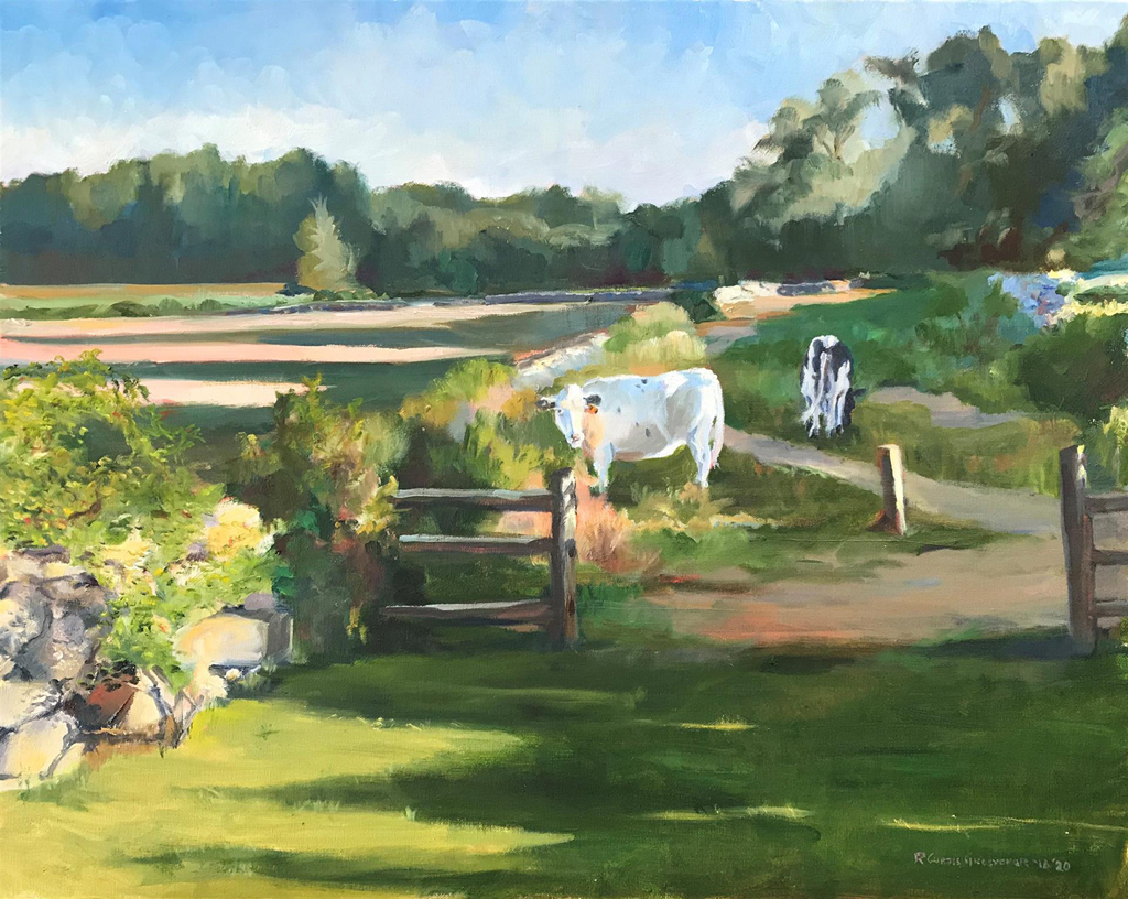 R Curtis Grosvenor, Anguilla Farm Summer