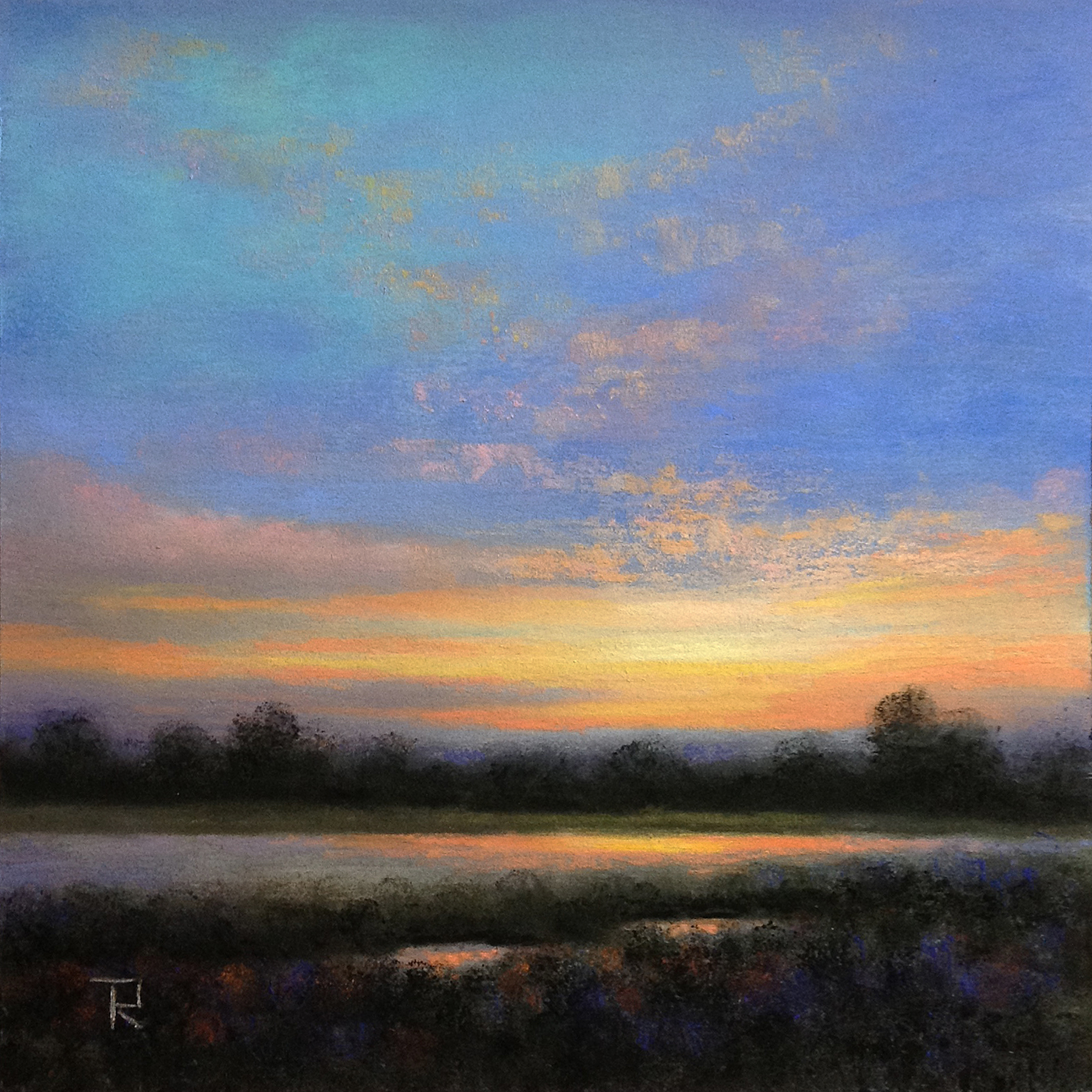 Tatiana Roulin, Amber Sunset, SOLD