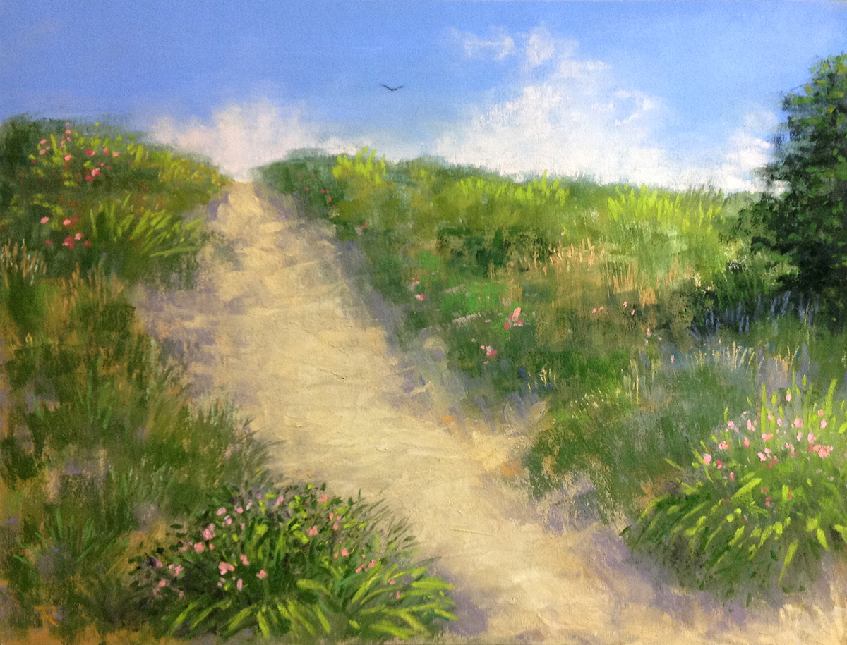 Tatiana Roulin, Blooming Dunes, SOLD