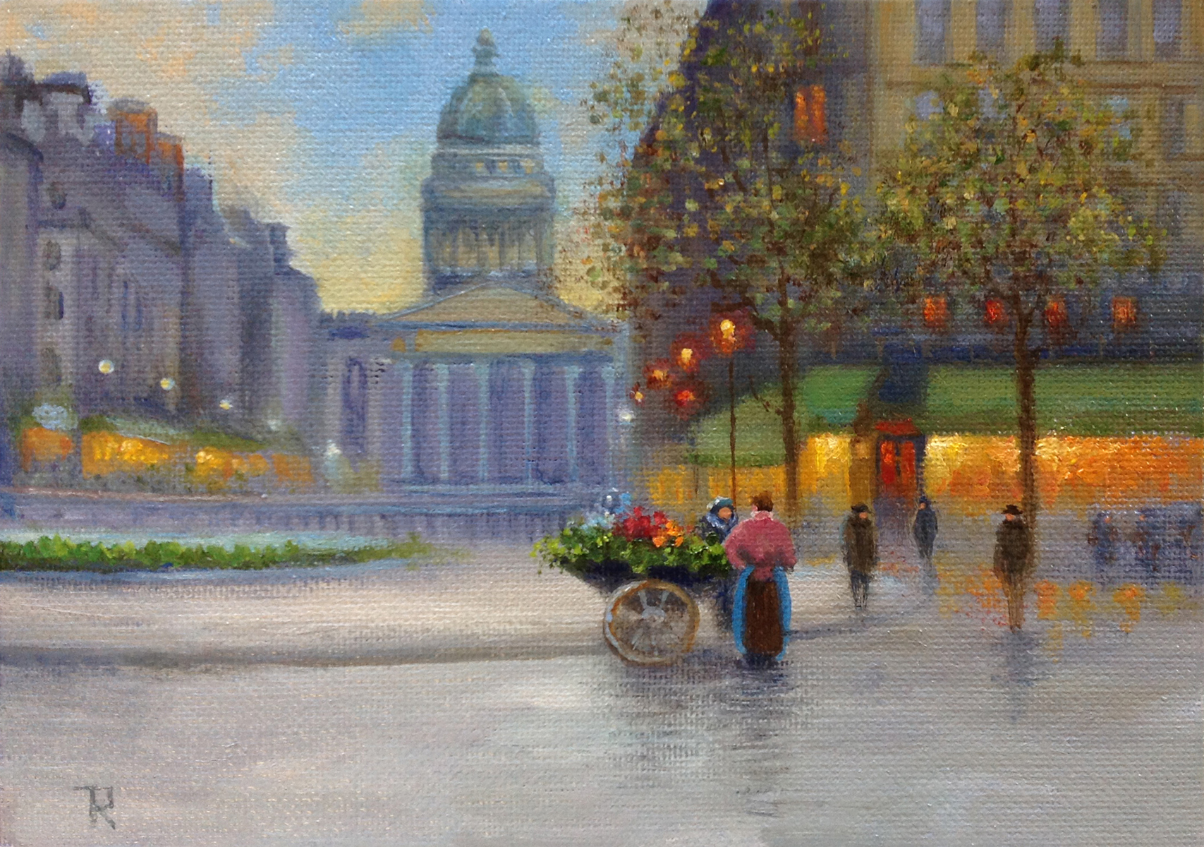 Tatiana Roulin, Parisian Pantheon, SOLD