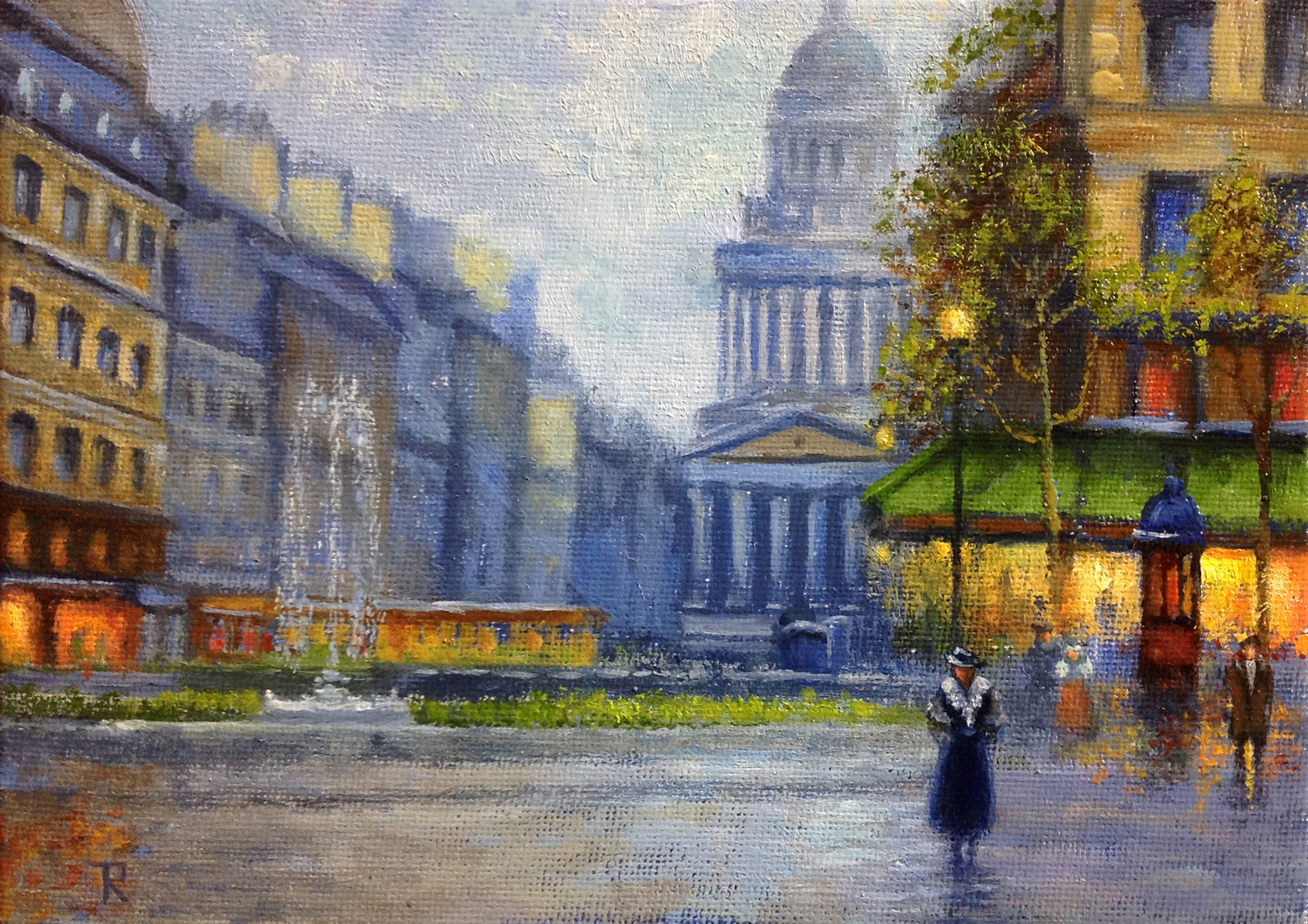 Tatiana Roulin, Rostand Place In Paris, SOLD