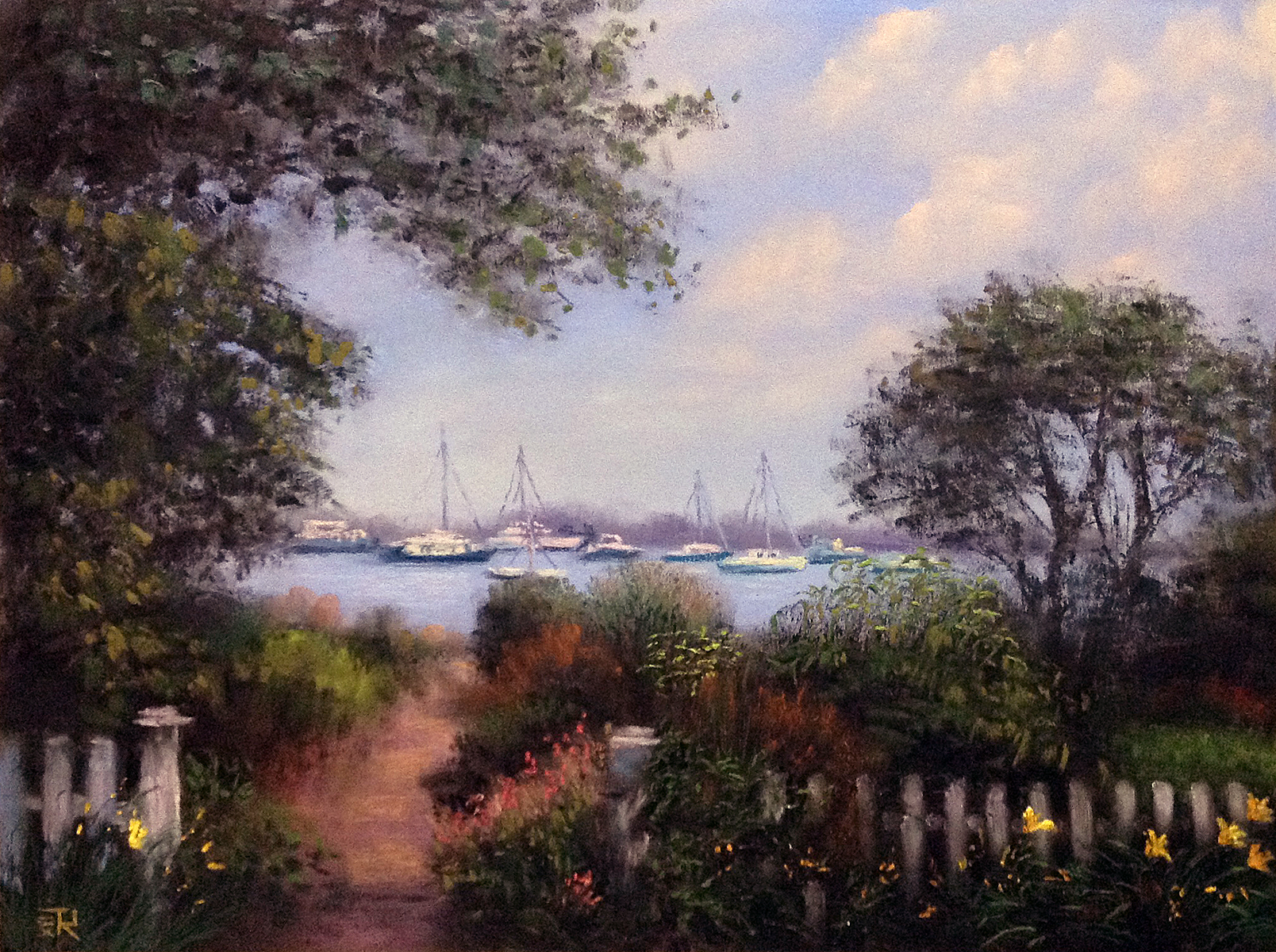 Tatiana Roulin, Beauty Of Martha's Vineyard, SOLD