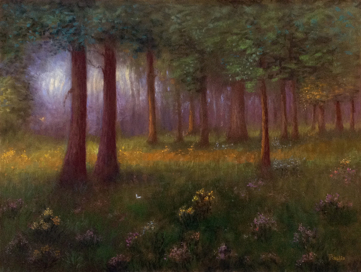 Tatiana Roulin, In The Forest, On Hold