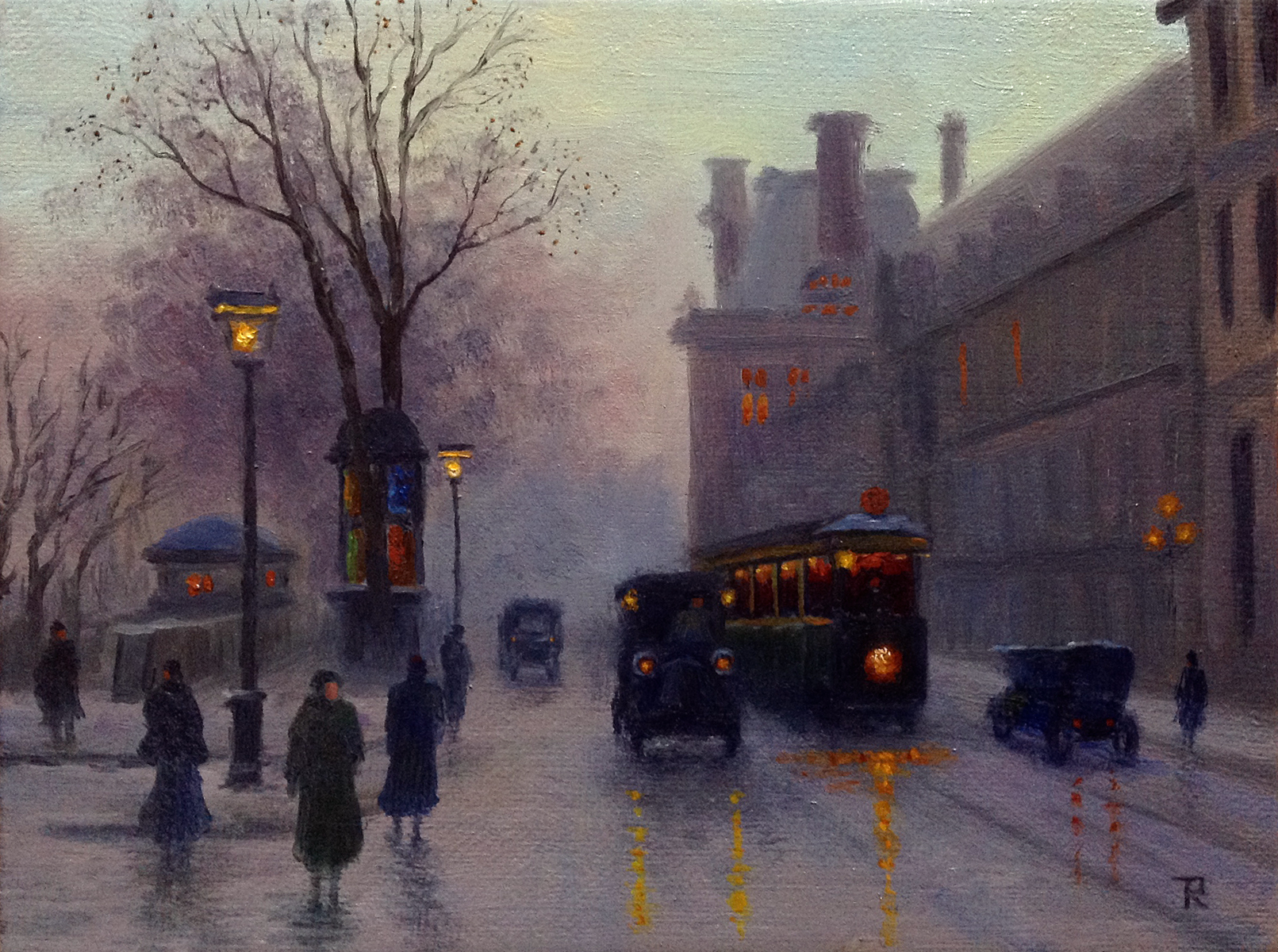Tatiana Roulin, Parisian Twilight, SOLD