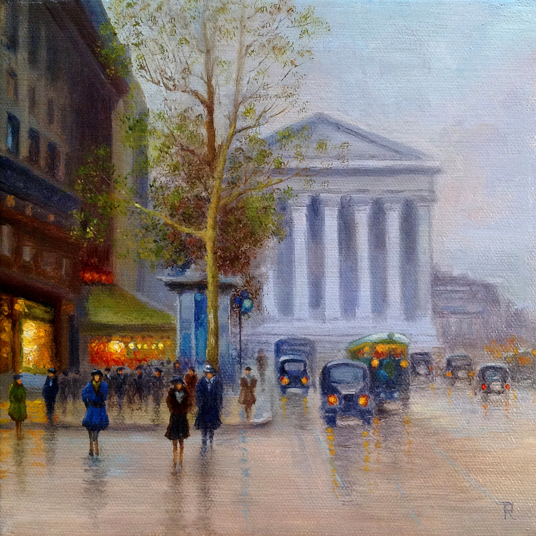 Tatiana Roulin, Springtime In Paris, SOLD