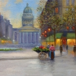 Tatiana Roulin, Parisian Pantheon